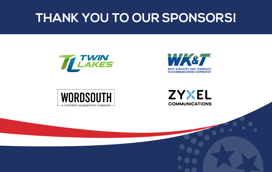 Thank you to our sponsors: Twin Lakes, WK&T, Wordsouth, Zyxel communiations