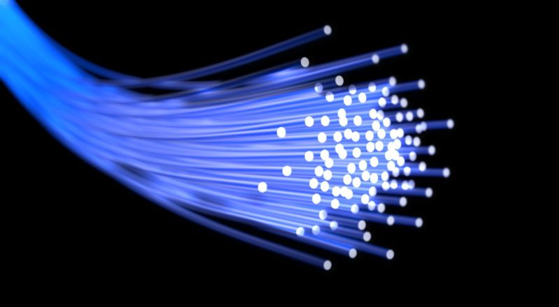 fiber optic fibers