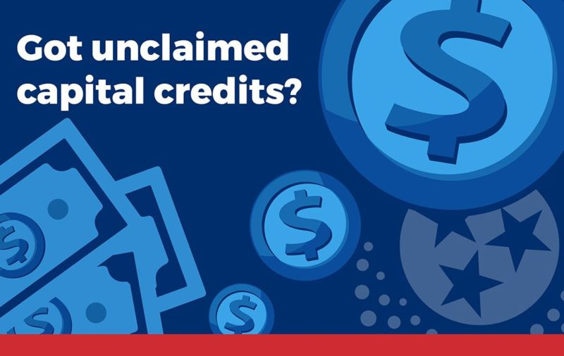 Got Unclaimed Capital Credits?