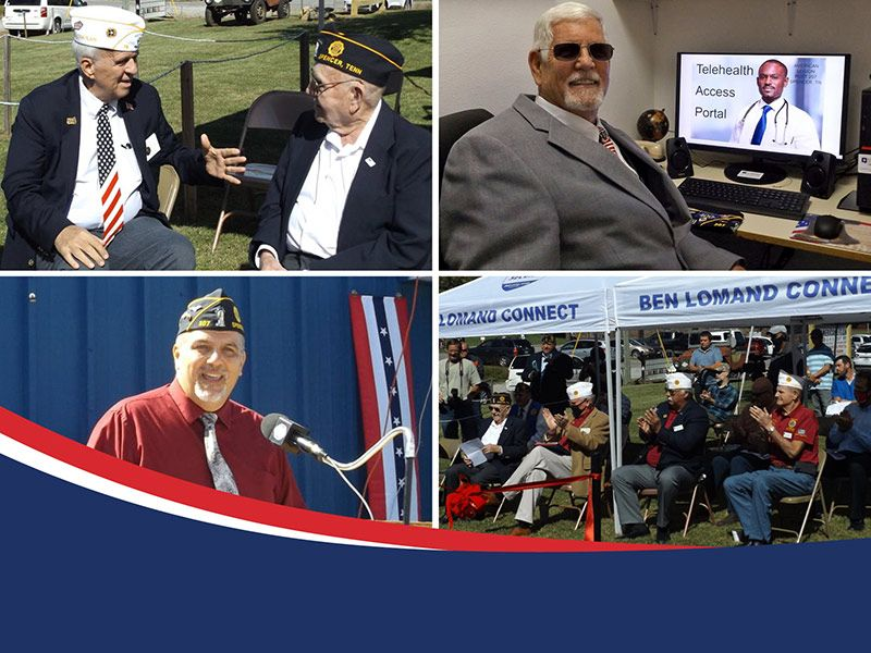 TNBA Member Provides Veterans Access to Telehealth