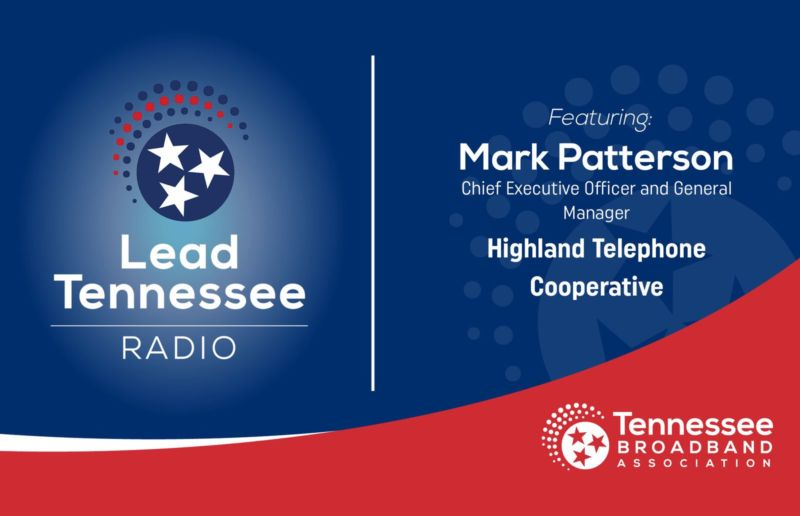 Podcast focuses on importance of broadband with Mark Patterson